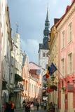 Stary miasteczko Tallin Zdjęcie Royalty Free