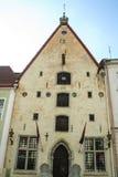 Stary miasteczko Tallin Obrazy Stock