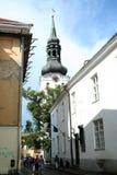 Stary miasteczko Tallin Zdjęcia Royalty Free