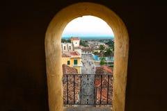 Stary miasteczko Trinidad od dziury kościół Fotografia Stock