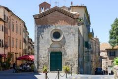 Stary miasteczko Volterra na Włochy zdjęcie royalty free