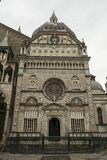 Stary miasteczko w Bergamo, Włochy obrazy royalty free