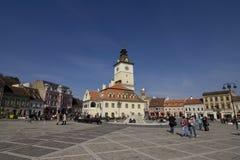 Stary miasteczko w Brasov Obrazy Royalty Free