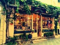 Stary miasteczko w Corfu Zdjęcia Royalty Free