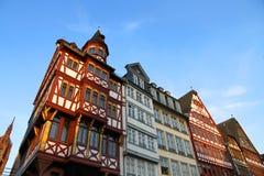 Stary miasteczko w Frankfurt magistrala - Am - obrazy stock