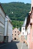 Stary miasteczko w Heidelberg, Niemcy Obraz Royalty Free