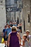 Stary miasteczko w rozłamu, Chorwacja (Stari absolwent) Obrazy Royalty Free