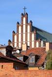 Stary miasteczko Warszawa obrazy royalty free