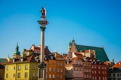 Stary miasteczko Warszawa Zdjęcia Stock