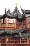 Stary miasto bóg ` s Yuyuan i świątynia Uprawiamy ogródek w Szanghaj Zdjęcie Stock