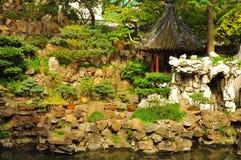 Stary miasto bóg ` s Yuyuan i świątynia Uprawiamy ogródek w Szanghaj Fotografia Royalty Free
