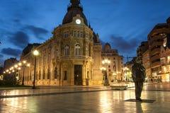 Stary miasto Cartagena Zdjęcia Royalty Free