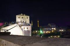 Stary miasto i Stary most, Mostar (Stari Najwięcej) obrazy stock