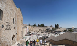 Stary miasto Jerozolima, Izrael, Środkowy Wschód Obrazy Stock