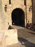 Stary miasto Rhodos Obrazy Royalty Free