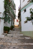 Stary miasto Skopelos Zdjęcia Royalty Free
