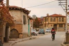 Stary miasto w Afyonkarahisar Obrazy Stock