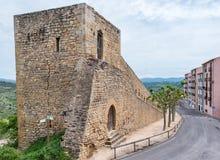Stary miasto w Hiszpania Morella Obrazy Stock