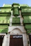 Stary miasto w Jeddah, Arabia Saudyjska znać jako ` Jeddah Dziejowy ` Stare i dziedzictwo drogi w Jeddah i budynki Arabia Saudyjs zdjęcie stock