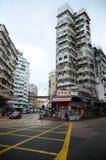 Stary mieszkanie w Hong Kong Obrazy Royalty Free