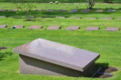 Stary militarny cmentarz w Lappeenranta Obrazy Stock