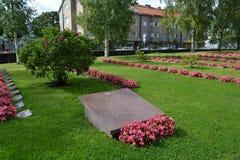 Stary militarny cmentarz w Lappeenranta Obraz Royalty Free