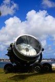 Stary militarny reflektor Obraz Stock