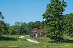 Stary Mississippi Sharecroppers dom zdjęcie stock
