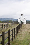 Kraju kościół Zdjęcia Stock