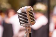stary moda mikrofon Fotografia Stock