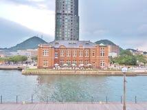 Stary Moji Customs budynek biurowy w Mojiko, Japonia fotografia stock
