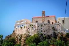 Stary monaster w Crete, Grecja Obraz Royalty Free
