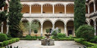 STARY monaster W CUACOS DE YUSTE Zdjęcie Royalty Free