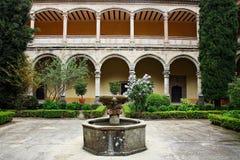 STARY monaster W CUACOS DE YUSTE Zdjęcia Royalty Free