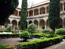 STARY monaster W CUACOS DE YUSTE Obraz Royalty Free