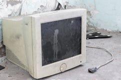 Stary monitor Obrazy Royalty Free