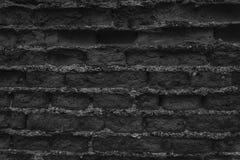 Stary monochromatyczny ściana z cegieł, kamienny tło lub skały powierzchnia dobrzy dla, - strony internetowej lub urządzeń przeno Zdjęcie Royalty Free