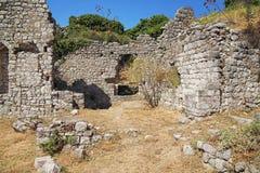 stary Montenegro prętowy miasteczko obraz stock