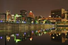 stary Montreal port Obraz Stock