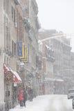 Stary Montreal w zimie Zdjęcie Royalty Free