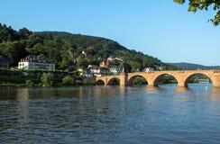 Stary most, Heidelberg Zdjęcia Stock
