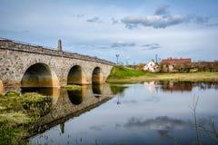 Stary most, Latvia obrazy stock