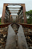 stary most pociąg Obraz Stock