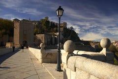 stary most Toledo obrazy royalty free