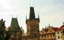 stary most tower miasta Zdjęcie Royalty Free