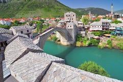Stary most w Mostar Bośnia i Herzegovina zdjęcia royalty free