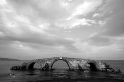 Stary most w ruinach Zdjęcie Royalty Free