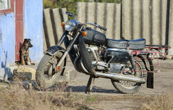 stary motocykl Obraz Stock