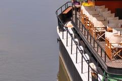 Stary motorboat jacht zdjęcie stock