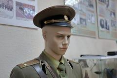 Stary mundur żołnierze Czerwony Radziecki wojsko fotografia royalty free